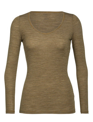 Merino Siren Long Sleeve Sweetheart Top