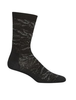 Merino Lifestyle Fine Gauge Crew Socks IB Glacier