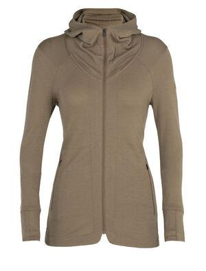 Merino Away II Long Sleeve Zip Hood Jacket