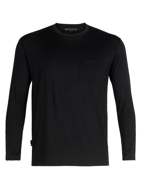 Tech Lite Long Sleeve Pocket Crewe