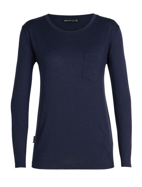 Women's 旅 TABI Tech Lite Long Sleeve Pocket Crewe
