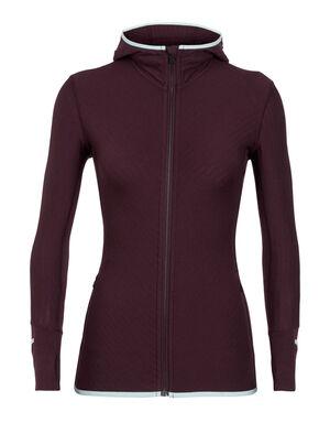 RealFleece® Merino Descender Long Sleeve Zip Hood Jacket