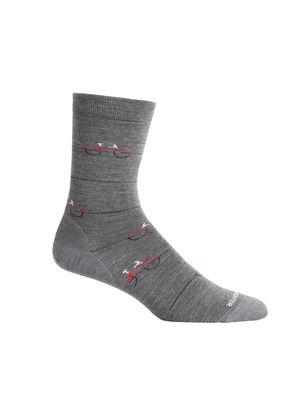 男女通用 美丽诺羊毛休闲系列细针中筒袜(Cadence) 休闲系列细针中筒袜(Cadence)是一款轻薄的休闲袜,采用优质美丽诺羊毛面料,将舒适穿着感与耐穿设计相结合,是日常穿着的理想选择。
