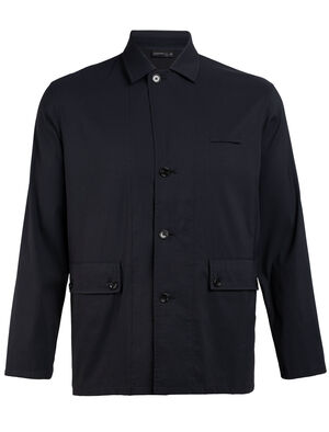 Mens 旅 TABI Persist Work Jacket A stylish and versatile men's merino wool jacket for travel and everyday style, the Persist Work Jacket is part of our 旅 TABI collection, a collaboration with Japanese apparel house GOLDWIN.