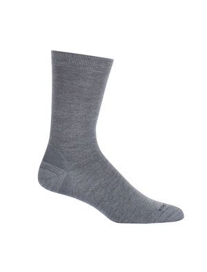 Unisex Lifestyle Fine Gauge Crew Lightweight casual socks perfect for everyday use, the Lifestyle Fine Gauge Crew combines premium merino wool comfort with a durable construction.
