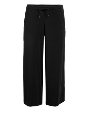 Womens Cool-Lite™ Yanni Culotte Flowy, relaxed-fit women's merino-blend pants featuring our cool-lite™ fabric, the Yanni Culotte offers light and airy everyday comfort.