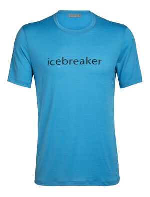 Merino Tech Lite Short Sleeve Crewe T-Shirt icebreaker Wordmark