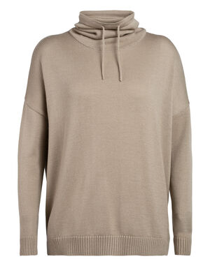 Womens Cool-Lite™ Merino Nova Pullover Sweater Our ultra-comfortable women's merino wool cowl neck sweater, the Nova Pullover Sweater is breathable, odor-resistant and as cozy as it gets.