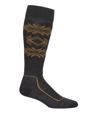 Merino Ski+ Light Over the Calf Socks Ski Heritage