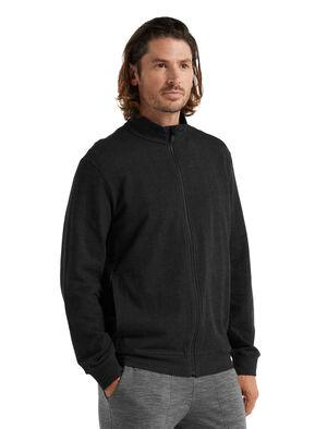 Merino Central Long Sleeve Zip Top