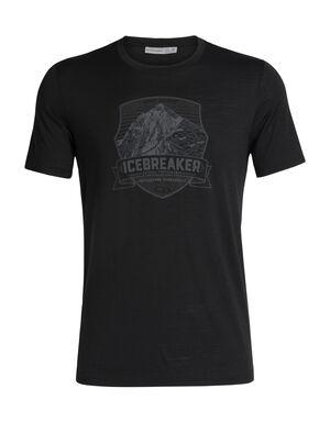 男款 Tech Lite短袖圆领上衣(Everest Crest) 作为Icebreaker用途最为广泛的男款美丽诺羊毛T恤,Tech Lite短袖圆领上衣(Everest Crest)具有天然的柔软、透气和防臭性能,让您在运动探险中时刻享受舒适。