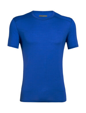 Mens Cool-Lite™ Amplify Short Sleeve Crewe An ultralight men's merino wool T-shirt for training in warm to hot conditions, the Amplify Short Sleeve Crewe provides soft comfort with unparalleled ventilation.