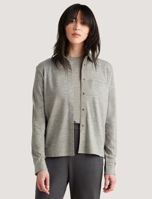 icebreaker城市系列美丽诺羊毛衬衫