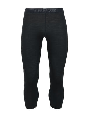 Mens BodyfitZone™ Merino 150 Zone Thermal 3/4 Leggings Our lightest mens base layer bottoms in a shorter length for all-season training and use with high-cuff footwear like ski boots, the 150 Zone Legless offer ultralight insulation.