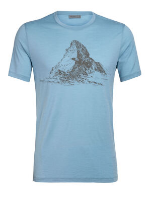 Mens Tech Lite Short Sleeve Crewe Spirit Guide Our most versatile tech tee, in breathable, odour-resistant merino wool. Artist Scott Elser celebrates the fabled Alpine Chough, a playful bird thought to embody the spirits of mountain guides.