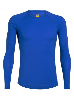Mens BodyfitZone™ Merino 150 Zone Long Sleeve Crewe Thermal Top Our lightest base layer top that's perfect for active adventure and everyday training, the 150 Zone Long Sleeve Crewe features 150gm jersey corespun with LYCRA® to maximize flexibility.