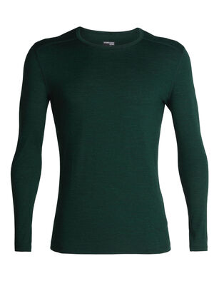 Mens Merino 200 Oasis Long Sleeve Crewe Thermal Top Our versatile, go-anywhere shirt made from breathable 100% merino wool jersey, the 200 Oasis Long Sleeve Crewe is our best-selling base layer top.