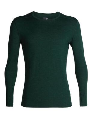 男款 Merino 200 Oasis长袖圆领上衣 200 Oasis长袖圆领上衣以透气的100%美丽诺羊毛平纹针织面料制成,是我们的畅销款打底上装,无论前往何处均可穿着,用途广泛。