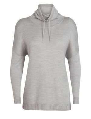 Womens Cool-Lite™ Nova Pullover Sweater Our ultra-comfortable women's merino wool cowl neck sweater, the Nova Pullover Sweater is breathable, odor-resistant and as cozy as it gets.