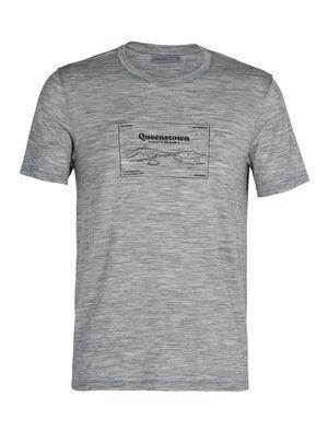 Merino Tech Lite Short Sleeve Crewe T-Shirt Queenstown