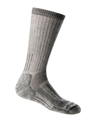 Womens Mountaineer Mid Calf Warm and fully cushioned women's merino wool socks for big climbs and cold, technical ascents, the Mountaineer Mid Calf socks are ready for the mountains.