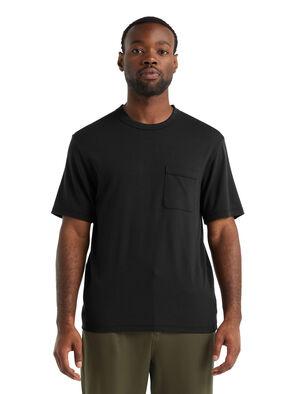Merino Rye Lane T-Shirt mit Brusttasche