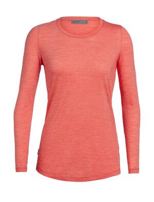 女款 Cool-Lite™ Sphere长袖中低圆领上衣 Sphere长袖中低圆领上衣选用柔软耐穿的130克Cool-Lite™平纹针织面料,格外轻薄舒适,是一款在温暖的日子里旅行和日常穿着的理想T恤。