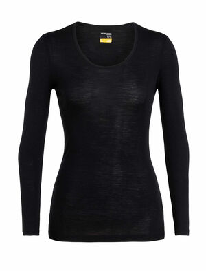 Womens Merino 175 Everyday Long Sleeve Scoop A classic, all-purpose women's baselayer T-shirt made with soft and breathable 100% merino wool fabric, the 175 Everyday Long Sleeve Scoop is as versatile as it is comfortable.