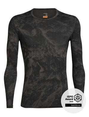 Nature Dye Merino 200 Oasis Long Sleeve Crewe Thermal Top Glacier