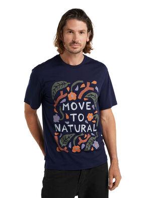 icebreaker x Luke Arnold Merino T-Shirt Move to Natural