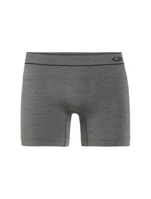 男款 Cool-Lite™ Anatomica无缝平角裤 修身剪裁的Anatomica无缝平角裤采用无缝设计和耐穿透气的美丽诺羊毛混纺面料,是一款格外舒适的高性能内裤,适合日常穿着和运动时选择。
