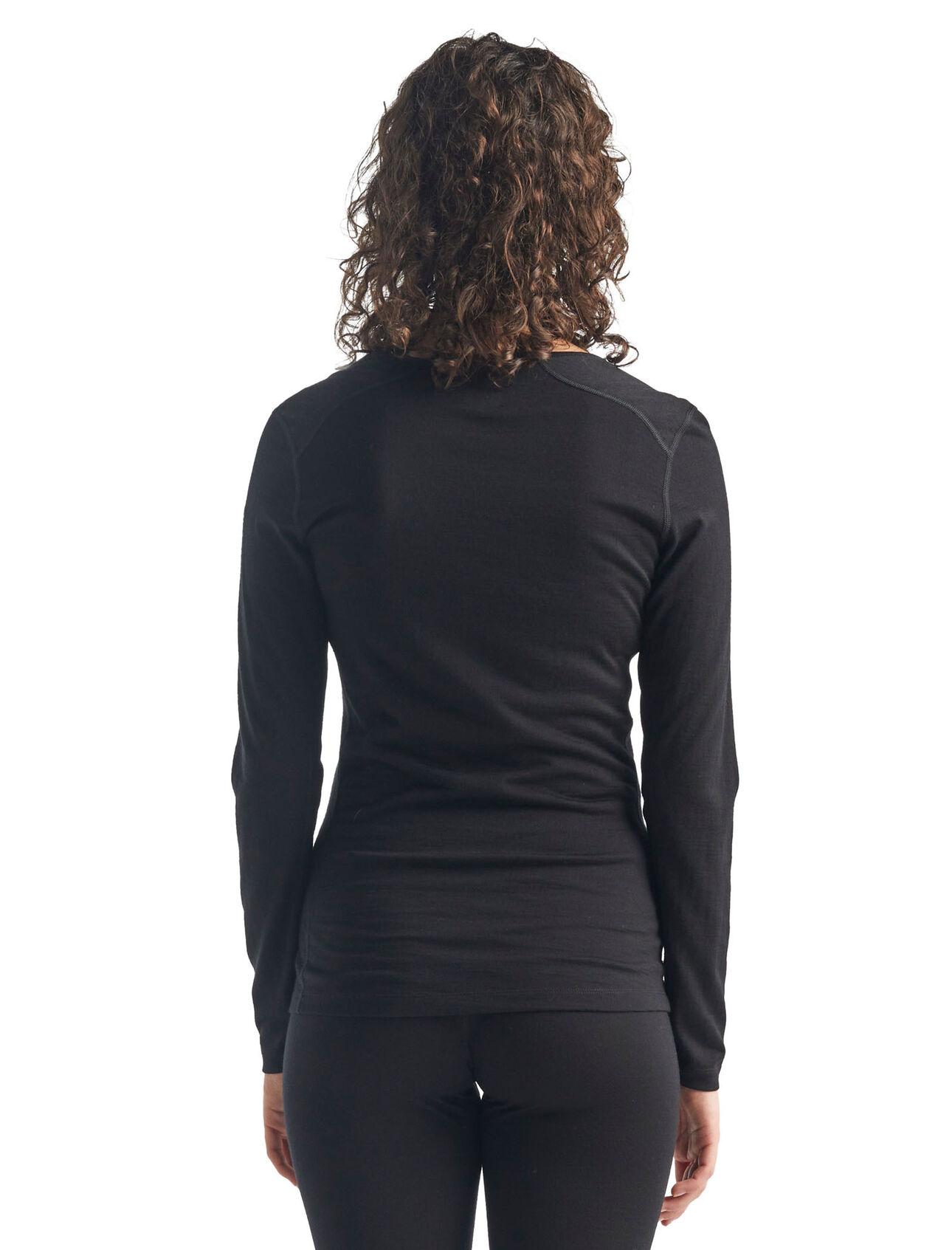 Womens Icebreaker Oasis Long Sleeve Scoop Merino Odour Resistant