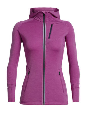 Quantum Long Sleeve Zip Hood