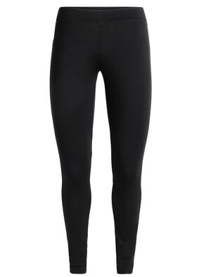 Womens Merino Solace Leggings  Premium stretch bottoms for active performance and easy layering warmth, the Solace Leggings are naturally breathable, soft, and odor-resistant thanks to our 260gm merino jersey fabric.