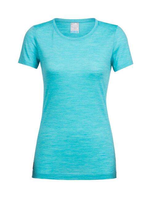 Women's Cool-Lite™ Sphere Short Sleeve Low Crewe