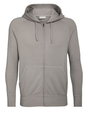 Nature Dye Merino Helliers Long Sleeve Zip Hood Sweater