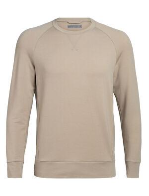 Sweatshirt manches longues col rond mérinos Cool-Lite™ Momentum
