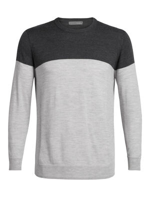 Mens Shearer Crewe Sweater A lightweight knit sweater made with 100% pure merino wool for the ultimate in casual comfort, the Shearer Crewe Sweater is a sure bet for warmth, breathability and odor resistance any day of the week.