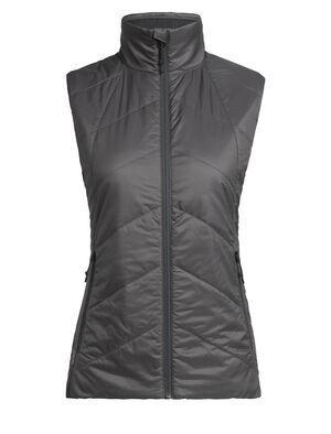 Dam MerinoLOFT™ Helix Vest Helix Vest är en isolerad damväst tillverkad av hållbar merinoull och återvunna material. Den är ett värmande och mångsidigt mellanlager du kan bära varje dag.