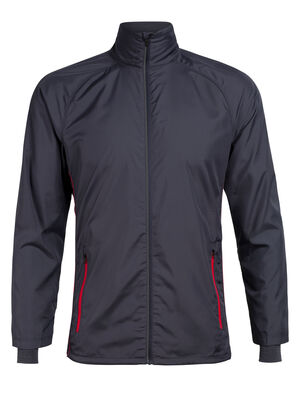 Mens Cool-Lite™ Merino Rush Windbreaker Jacket A lightweight and weather-resistant men's jacket with a technical design and merino wool content, the Rush Windbreaker sheds light weather while actively wicking moisture.
