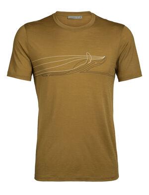 Tech Lite短袖圆领上衣 Single Line Whale