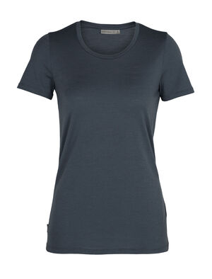 Womens Merino Tech Lite Short Sleeve Low Crewe T-Shirt Our most versatile merino tech tee, the Tech Lite Short Sleeve Low Crewe is stretchy, highly breathable, and odor-resistant—perfect for just about any adventure you can think of.