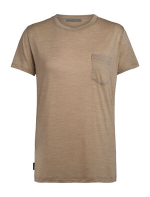 Merino Nature Dye Drayden Short Sleeve Pocket Crewe T-Shirt