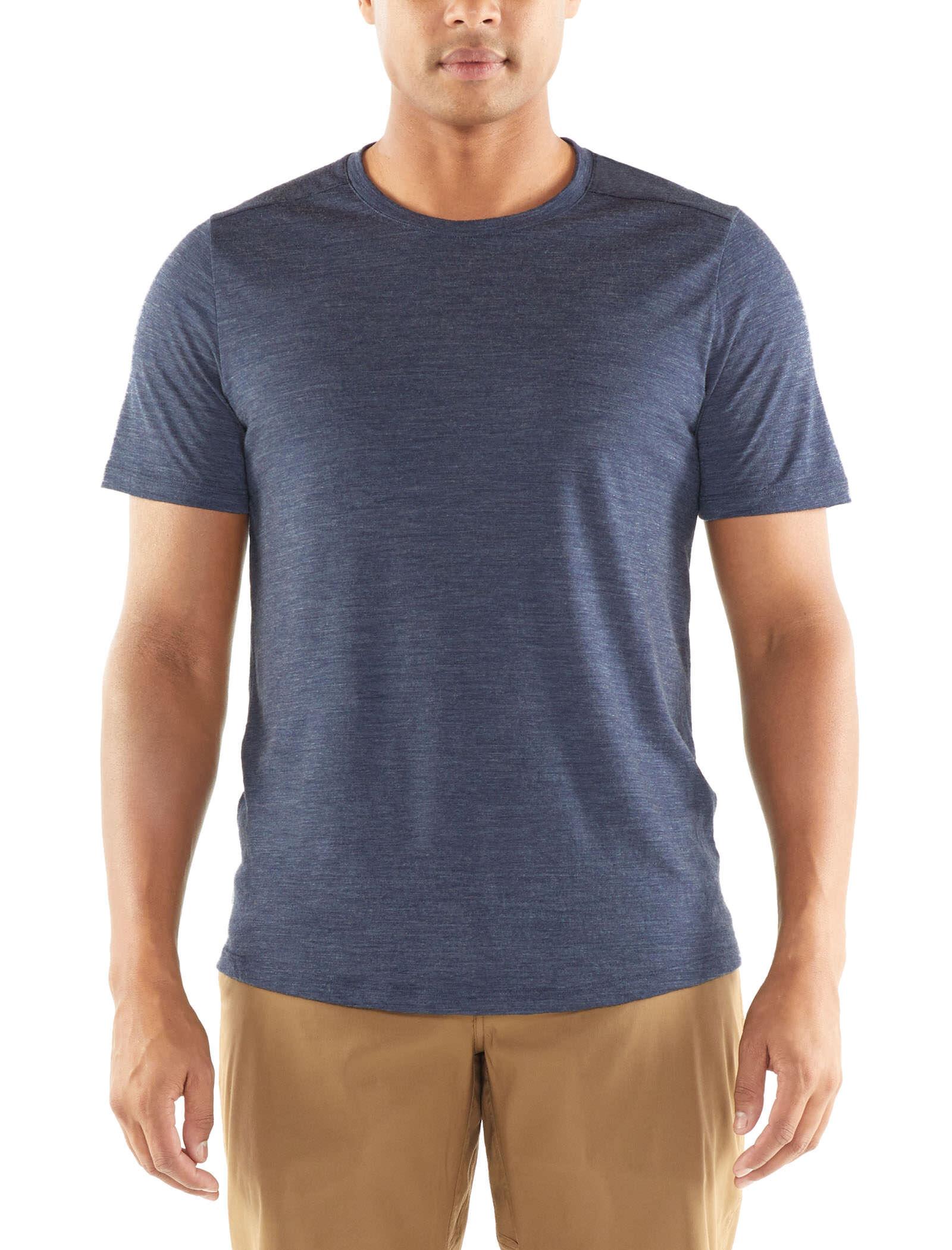 Mens Icebreaker Sphere Short-Sleeve Crew Shirt