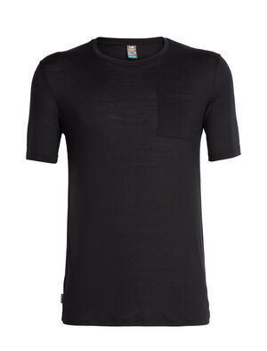 Mens Cool-Lite™ Solace Short Sleeve Pocket Crewe A classic slim-fit T-shirt for all-year-round versatility, the Solace Short Sleeve Pocket Crewe is made from Cool-Lite™, a blend of merino and natural TENCEL™