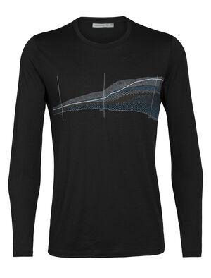 Tech Lite långärmad t-shirt Impact Timeline med rund halsringning