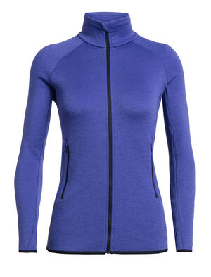Womens Elemental Long Sleeve Zip A heavyweight women's mid layer fleece ideal for training or adventures in cold conditions, the Elemental Long Sleeve Zip Hood features a streamlined design and stretchy merino wool fleece that breathes efficiently over a base layer and provides ample insulation when worn under a hardshell