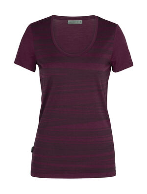 Womens Merino Tech Lite Short Sleeve Scoop Neck T-Shirt 1000 Lines Our most versatile merino tech tee with a scoop neck design, the Tech Lite Short Sleeve Scoop 1000 Lines is stretchy, highly breathable and odor-resistant.