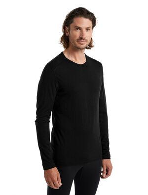 200 Oasis shirt met lange mouwen en ronde hals