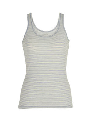 Womens Merino Siren Tank Top  A soft and stretchy tank top with a sleek, feminine design for everyday layering comfort, the Siren Tank features our durable and incredibly soft corespun merino wool blend fabric.